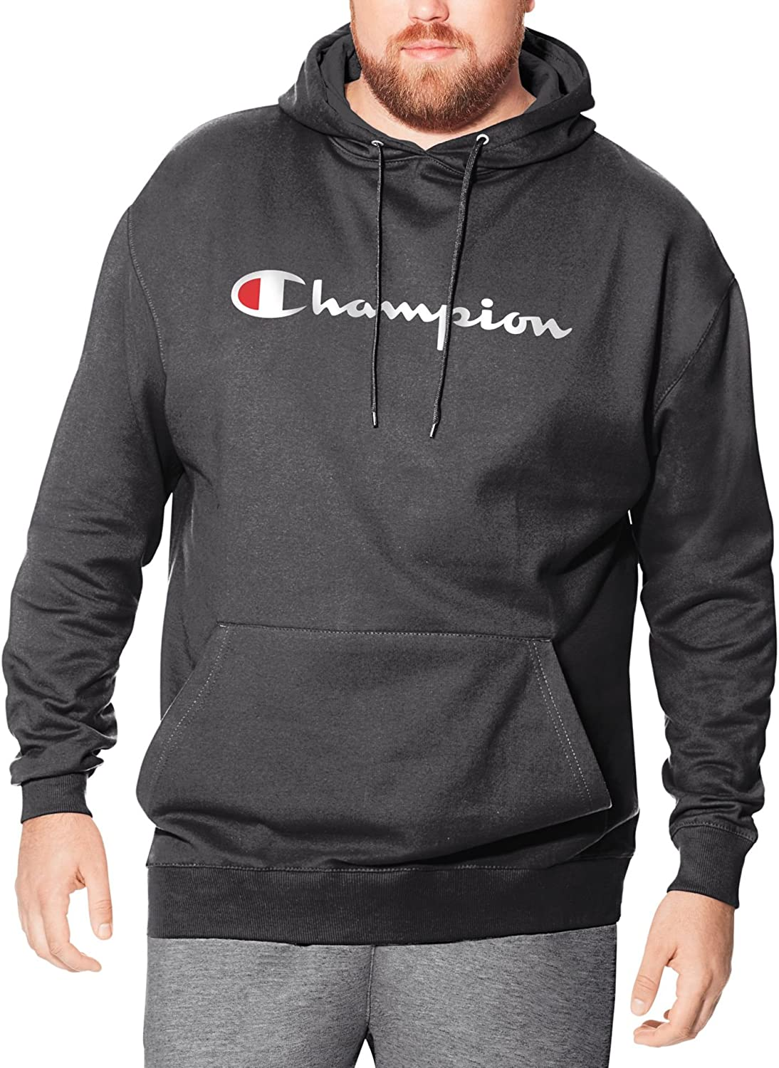 Champion Men's Big and Tall Performance Pullover Hoodie