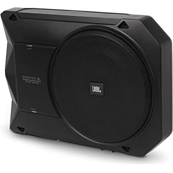 """BassPro SL - JBL 8"""" 125W RMS Powered Under-Seat Compact Subwoofer Enclosure System"""