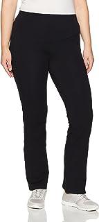 Rainbeau Curves Women's Plus Size Curve Basix Bootcut Compression Legging