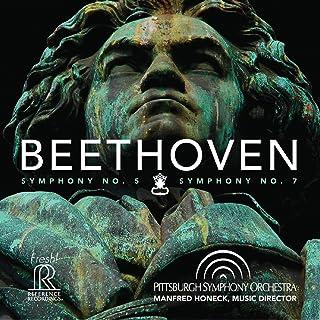 ベートーヴェン : 交響曲 第5番 「運命」 & 交響曲 第7番 (Beethoven : Symphony No.5 & Symphony No.7 / Pittsuburgh Symphony Orchestra | Manfred Hon...