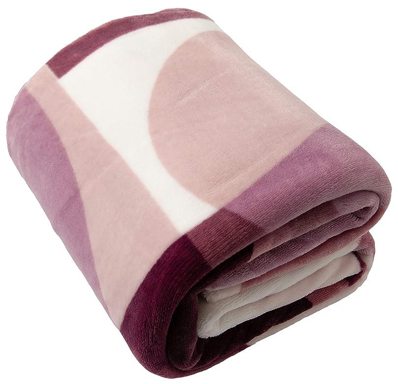 リー打たれたトラックペインティングテイジン 掛けふとんカバー パープル ダブル あったか 掛け布団カバー 冬用 毛布としても使える 86860319