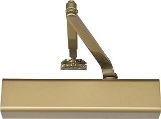 Norton Door Controls 8501 x 696 8500 Series Door Closer, Cast Aluminum Body, Adjustable Size 1-6, Full Cover Tri-Styled Pack, Gold Finish