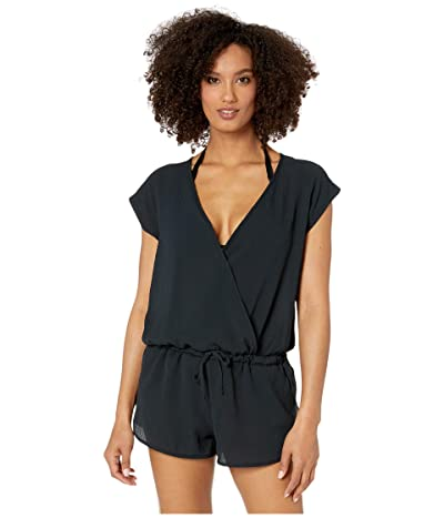 Speedo Romper Cover-Up (Speedo Black) Women
