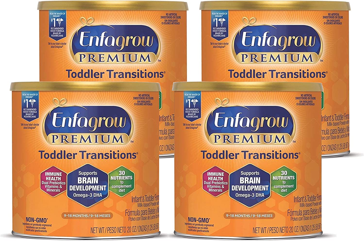 Enfagrow PREMIUM Toddler Spring new work one after another Transitions Mon Nutritional Tampa Mall Drink 9-18