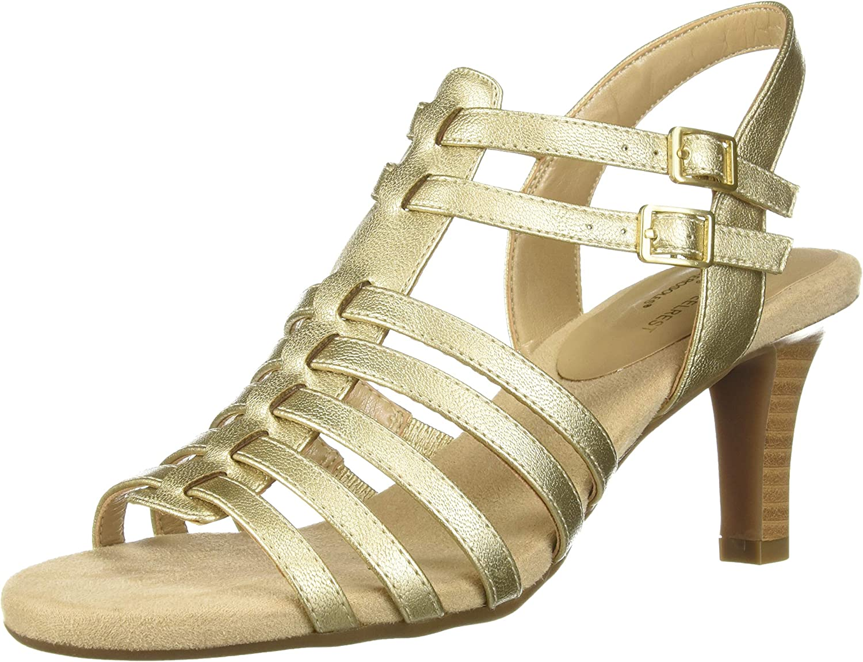 Aerosoles Womens Pass Through Heeled Sandal