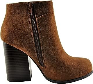 Bertie Women's Closed Toe Block Heel Bootie