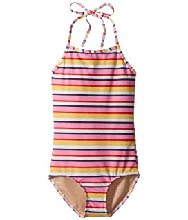 Sunshine Stripe One-Piece Swimsuit (Infant/Toddler/Little Kids/Big Kids)