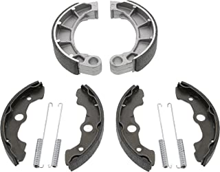 Race Driven Front & Rear Standard Brake Shoes for Honda Rancher Foreman Fourtrax TRX350 TRX400 TRX450 TRX 350 400 450