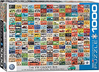 Eurographics 1000pcs - The VW Groovy Bus