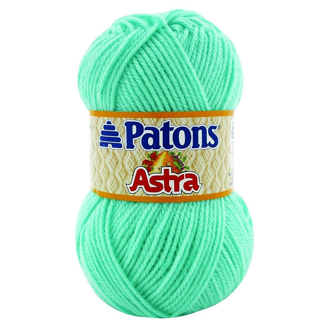 Patons  Astra Solids Yarn - (3) Light Gauge 100% Acrylic - 1.75 oz -   Ocean Mist -  Machine Wash & Dry