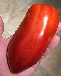 San Marzano Redorta Heirloom Tomato Premium Seed Packet