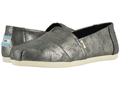 TOMS Alpargata 3.0 (TOMS Forged Iron Shimmer Synthetic) Women