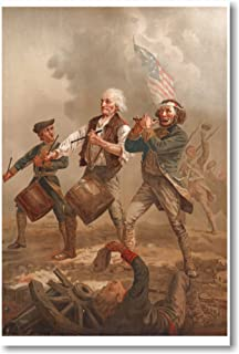Yankee Doodle - Spirit of '76 Fife & Drums Revolutionary War - New Colonial American Poster