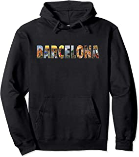 Barcelona Spain Souvenir Spanish Vacation Hoodie Gift