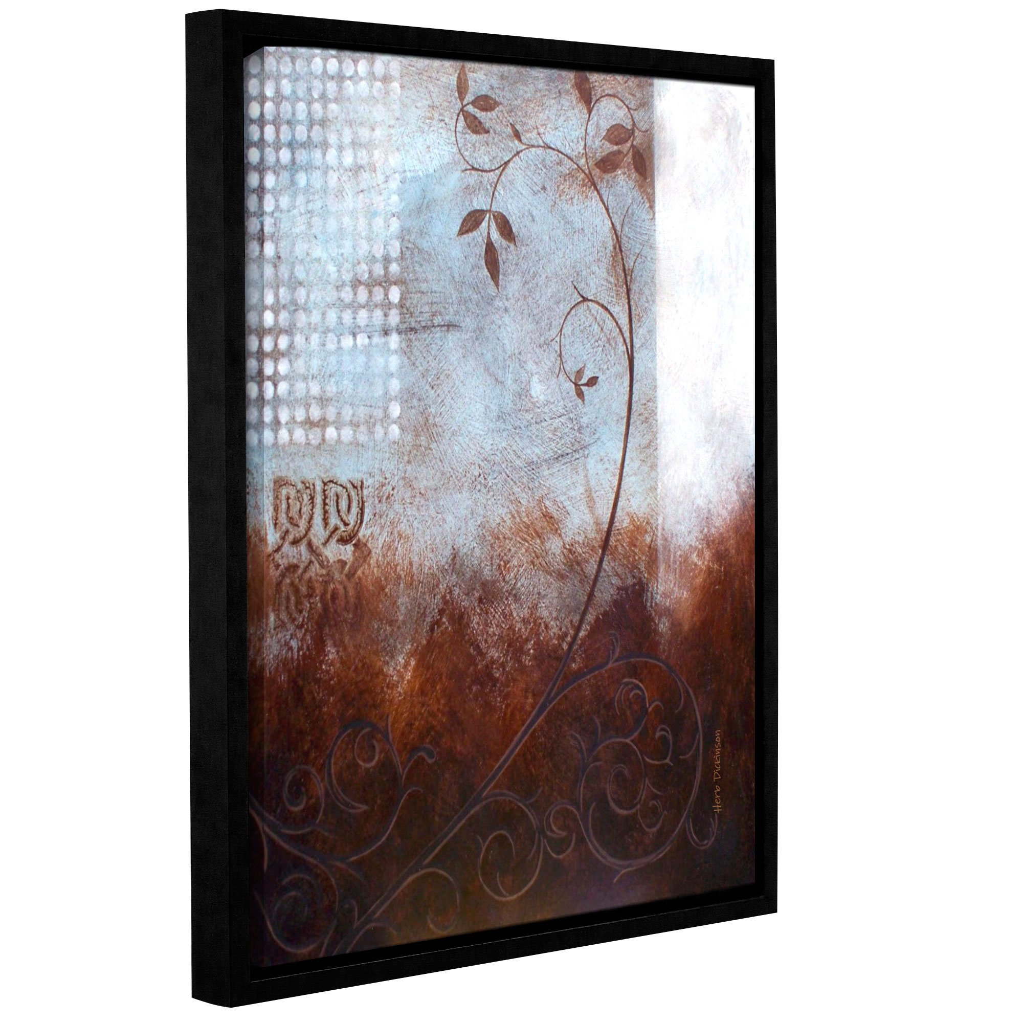 18 x 24 ArtWall Herb Dickinsons Splashy Umber Art Appeelz Removable Graphic Wall Art