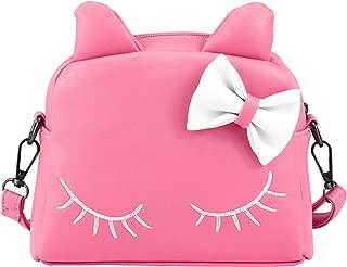 CMK Trendy Kids Girls Cat Purse for Toddler Kids Crossbody Bags