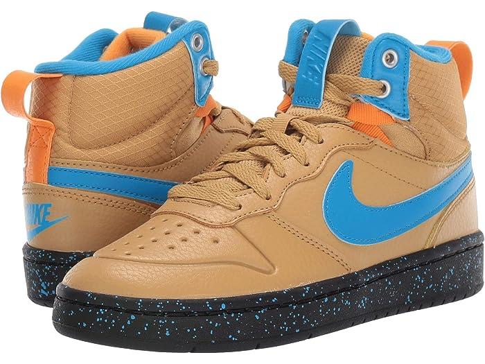 Nike Kids Court Borough Mid 2 Boot (Big