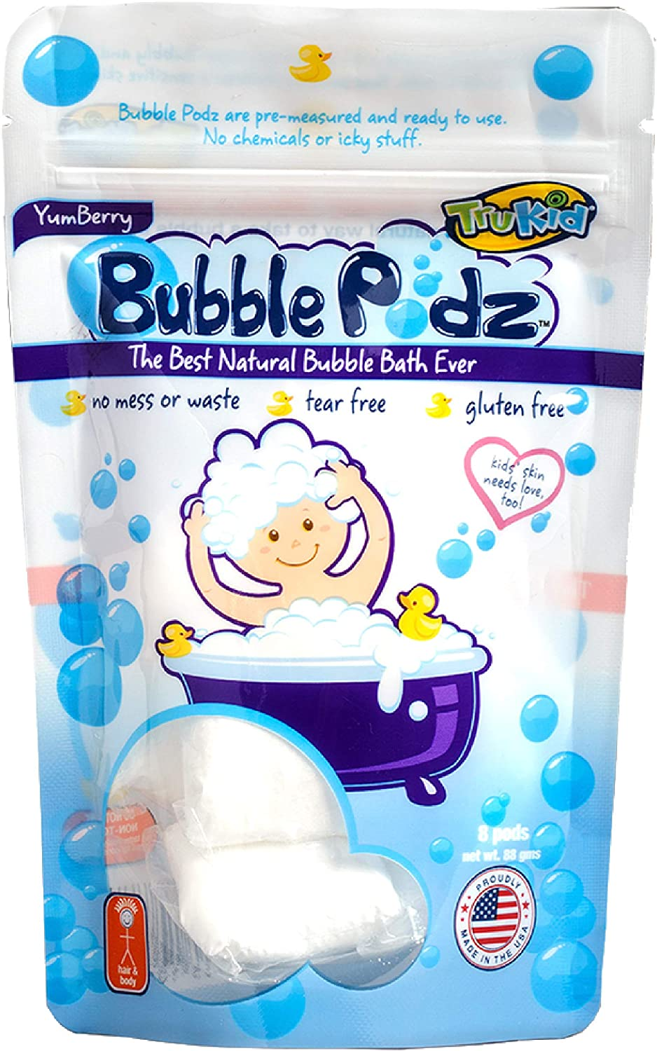 TruKid Bubble Podz for Baby Refreshing Luxury goods Bath Manufacturer direct delivery Sensitiv