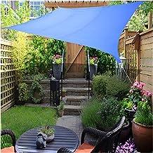 LIXIONG Zonnekap Zeil, Waterdichte Rechthoek Polyester Luifel, 95% UV-bescherming Outdoor Zomer Scherm Luifel voor Party P...