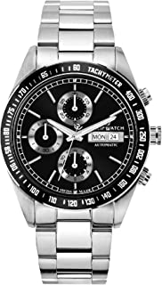 PHILIP WATCH Orologio Cronografo Automatico Uomo con Cinturino in Acciaio Inox R8243607001