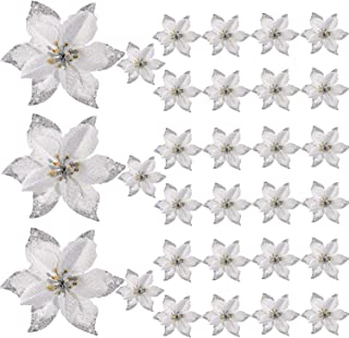 Best white flowers for christmas tree Reviews