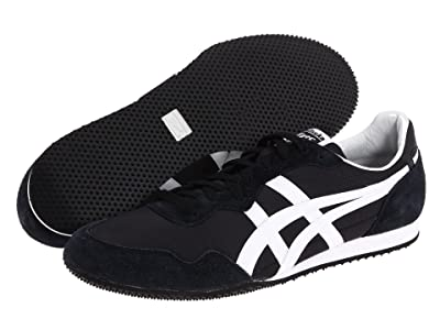 Onitsuka Tiger Serranotm (Black/White) Classic Shoes