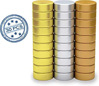 Small Refrigerator Magnets   Office Magnets   Kitchen Magnets 30 Pack (Gold, Silver, Copper Plated)