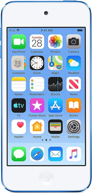 Apple iPod touch (256GB) - Blue (7th Gen) (Renewed)