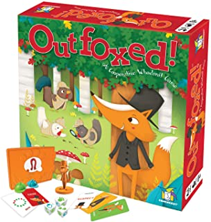 Gamewright Outfoxed! A Cooperative Whodunit Board Game for Kids 5+, Multi-colored,..