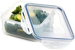 LocknLock Airtight Food Storage Container, 20.29-oz / 2.54-cup, Clear Blue, Square, Plastic