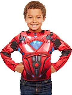 Power Rangers Movie Red Ranger Deluxe Dress Up Costume