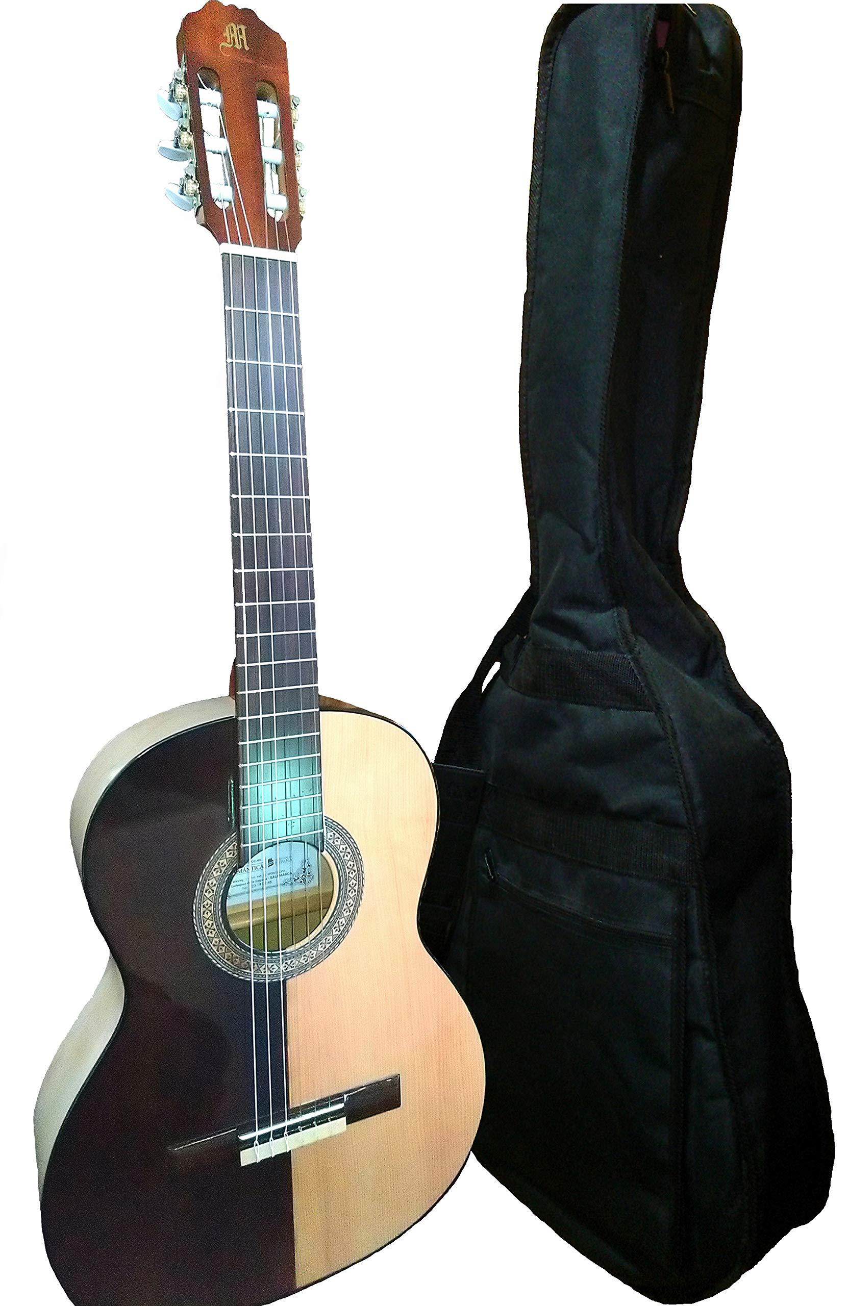 MARCE HELMANTICA - Guitarra Clasica española de estudio + Funda ...