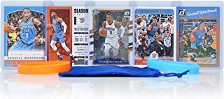 Russell Westbrook (5) Assorted Basketball Cards Bundle - Houston Rockets Trading Cards - # 0