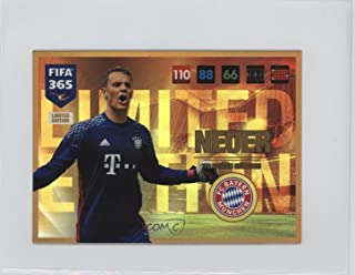 Manuel Neuer (Trading Card) 2016-17 Panini Adrenalyn XL Fifa 365 - Limited Edition - XXL #MANE.2