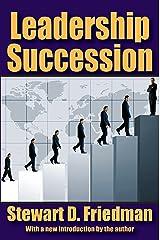 Leadership Succession Kindle Edition