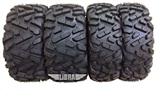 Set 4 ATV UTV Tires 26x9-12 & 26x11-12 for 14-17 Polaris Ranger 900 CREW/XP