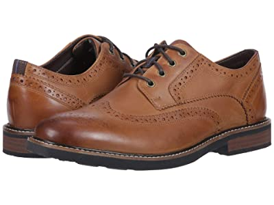 Nunn Bush Oakdale Wingtip Oxford with KORE Walking Comfort Technology (Tan CH) Men