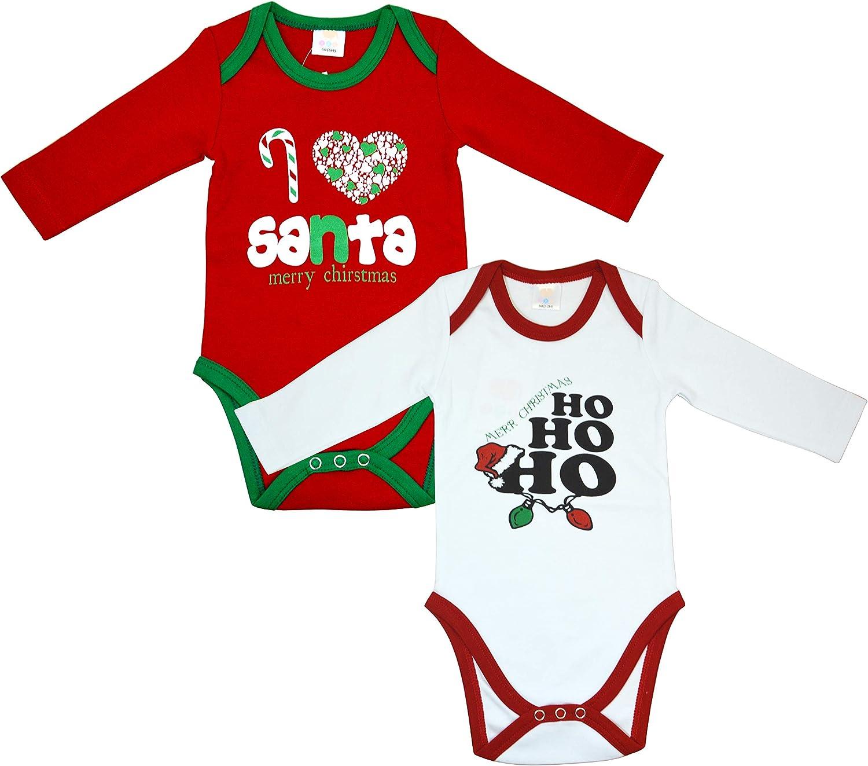 Body para beb/é 2 unidades, 100 /% algod/ón, con cari/ño estampado, 3 /– 24 meses OZYOL