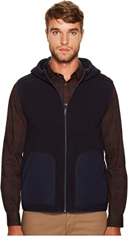 Vince - Reversible Sherpa Hooded Vest