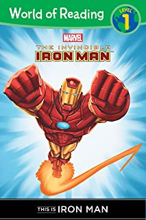 The Invincible Iron Man: This is Iron Man (Level 1 Reader) (Marvel Reader (ebook))