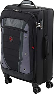 Wenger 604378 Softside Luggage, Grey/Black, 67 Centimeters