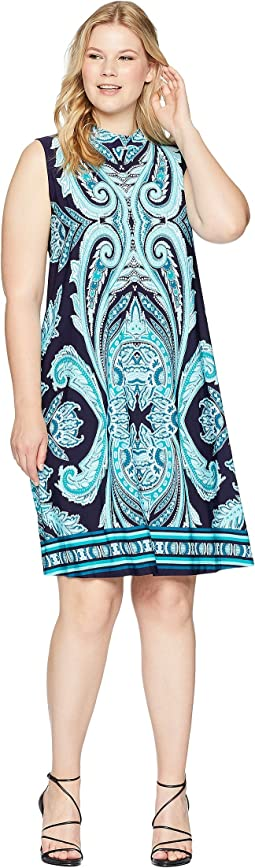 KARI LYN Plus Size Carolyn Sleeveless Dress