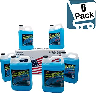 HS 29.606 Bug Wash Windshield Washer Fluid, 1 Gal (3.78 L) (Pack of 6)