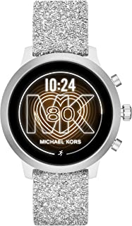 Access MKGO Smartwatch- Lightweight Touchscreen Powered with Wear OS by Google with Heart Rate, GPS, NFC, and Smartphone Notifications