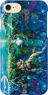 ブレインズ Galaxy S9+ SC-03K SCV39 ハード ケース カバー モルフィウス姫の墓 ウエダマサノブ 縄文じいさん 森 ファンタジー