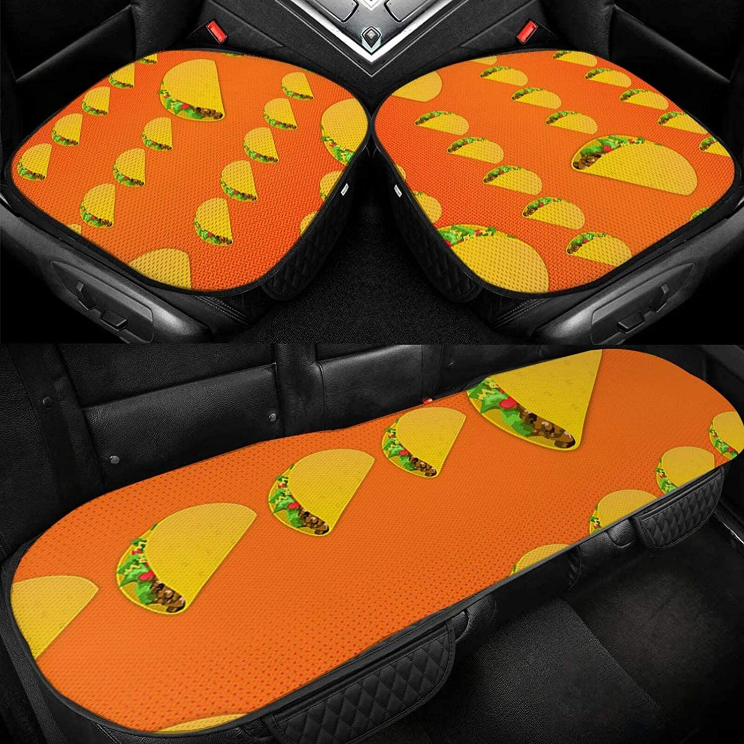 Car Seat Cushion Covers Fast Food Bottom Cover Ranking integrated 1st place for New arrival M Orange