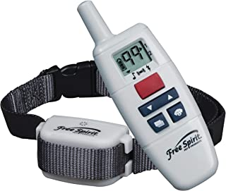 Free Spirit Dog Training Collar and Remote Trainer - Rechargeable and Waterproof Shock E-Collar with 3 Training Modes Tone...