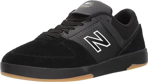 New Balance Numeric SchwarzSchwarzWildleder 533 V2 Schuhe