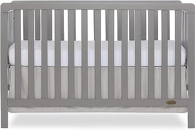 Dream On Me Ridgefield 5 in 1 Convertible Crib in Storm Grey