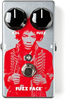 Dunlop JHM5 Jimi Hendrix Fuzz Face Distortion Guitar Effects Pedal w/Bonus Patch Cord & LuluRock Pick (x1) 710137098565